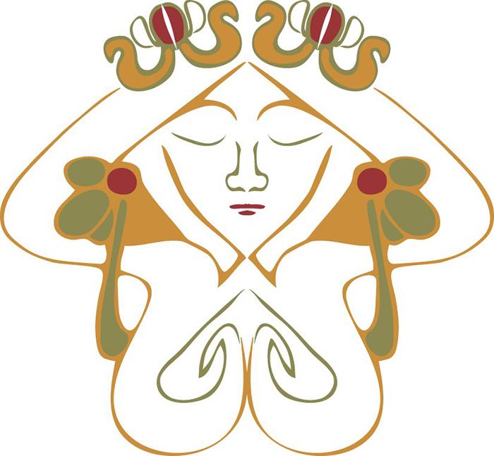 Art Nouveau Vector Symbol